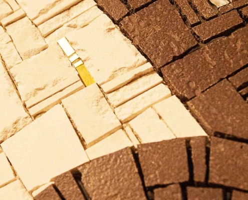 Naldi pavimenti, Finiture e decori, Mosaico
