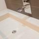 Naldi pavimenti, Showroom, Lavello ampio rettangolare