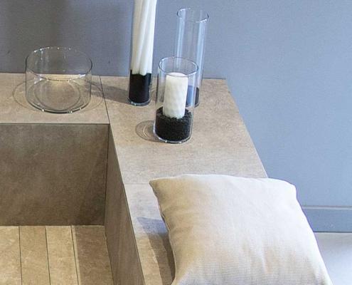 Naldi pavimenti, Showroom, Benessere e rigore nella posa