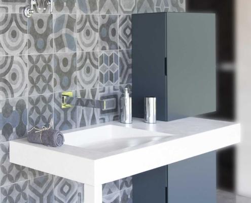 Naldi pavimenti, Lineare decorativo