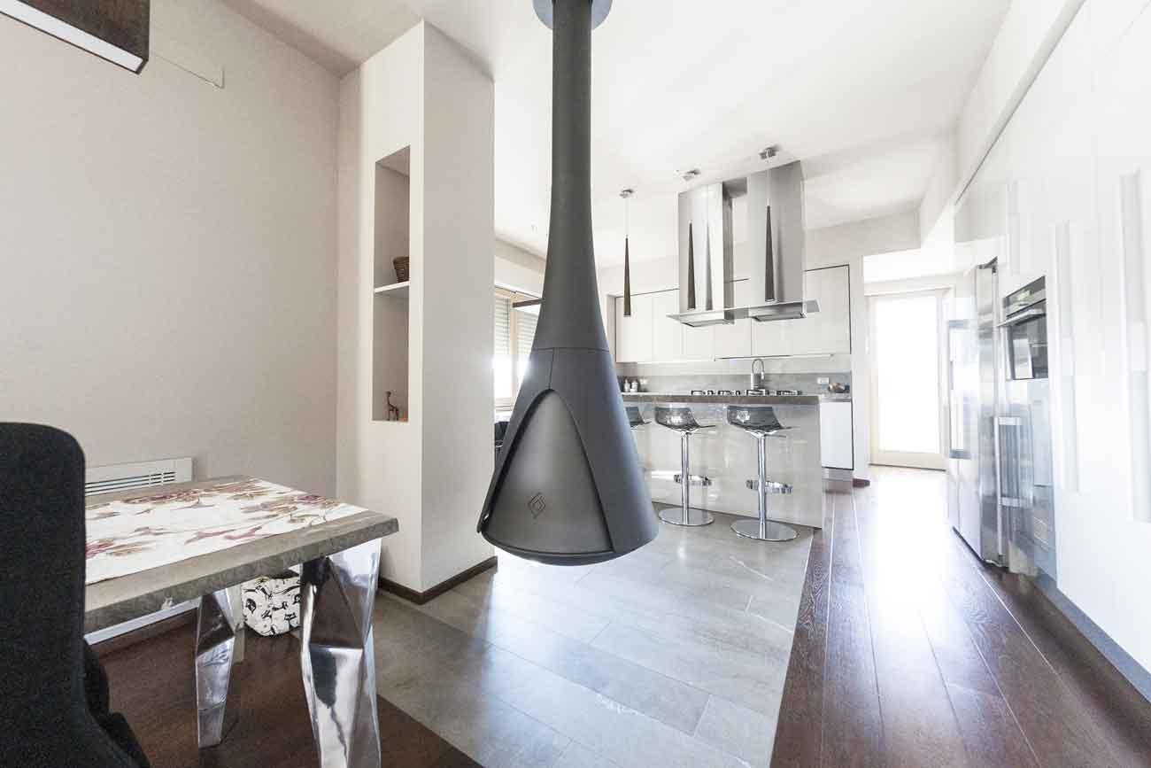 Naldi pavimenti casa materiali in armonia cucina open space naldi