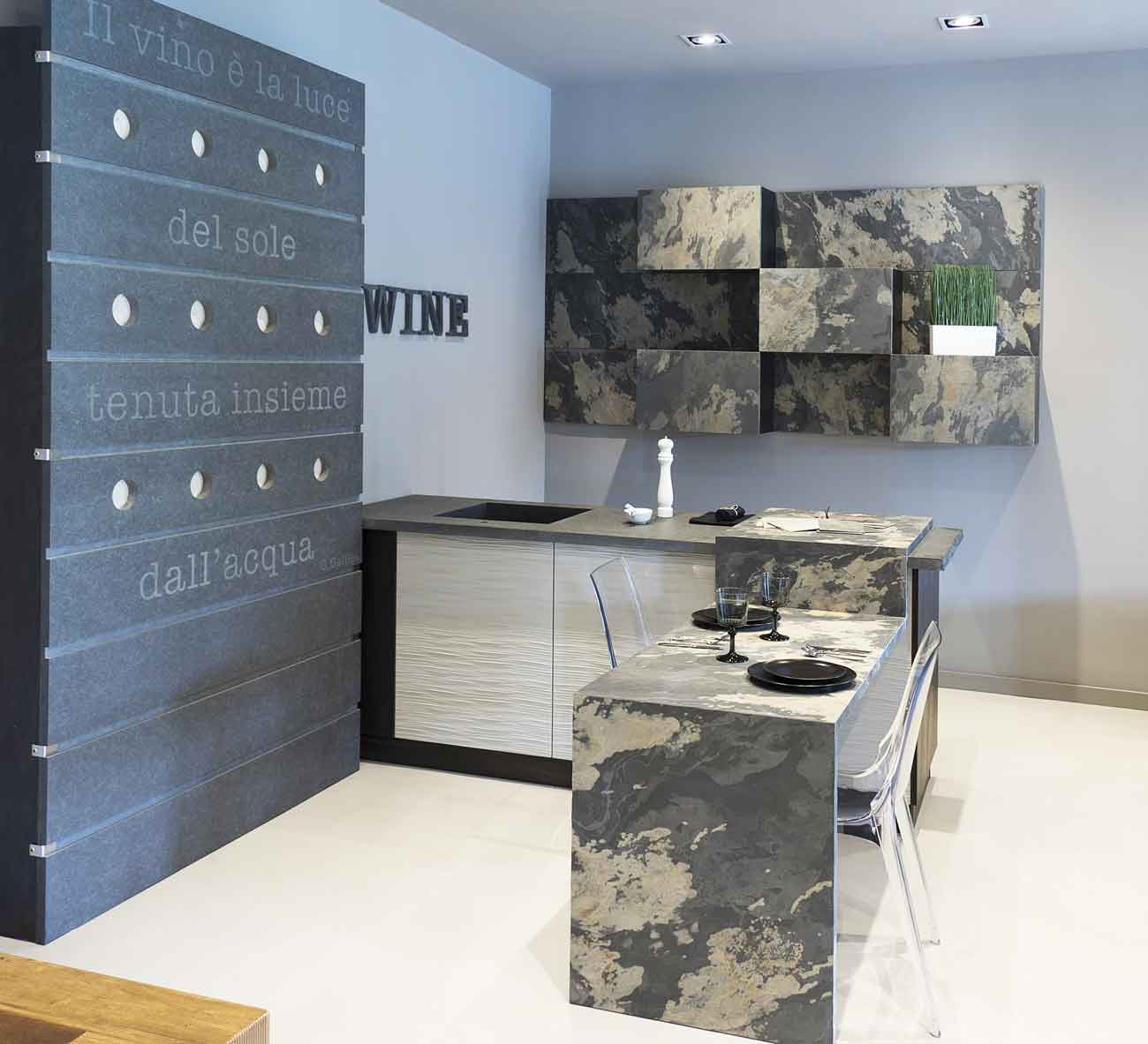 Naldi pavimenti, Showroom, Spazio idee