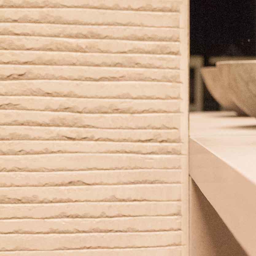 Naldi pavimenti, Showroom, Soluzione per due