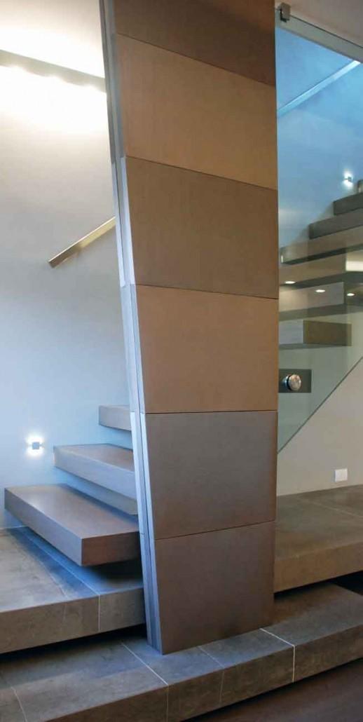 Naldi pavimenti, Allestimenti e pose, Appartamento polimaterico