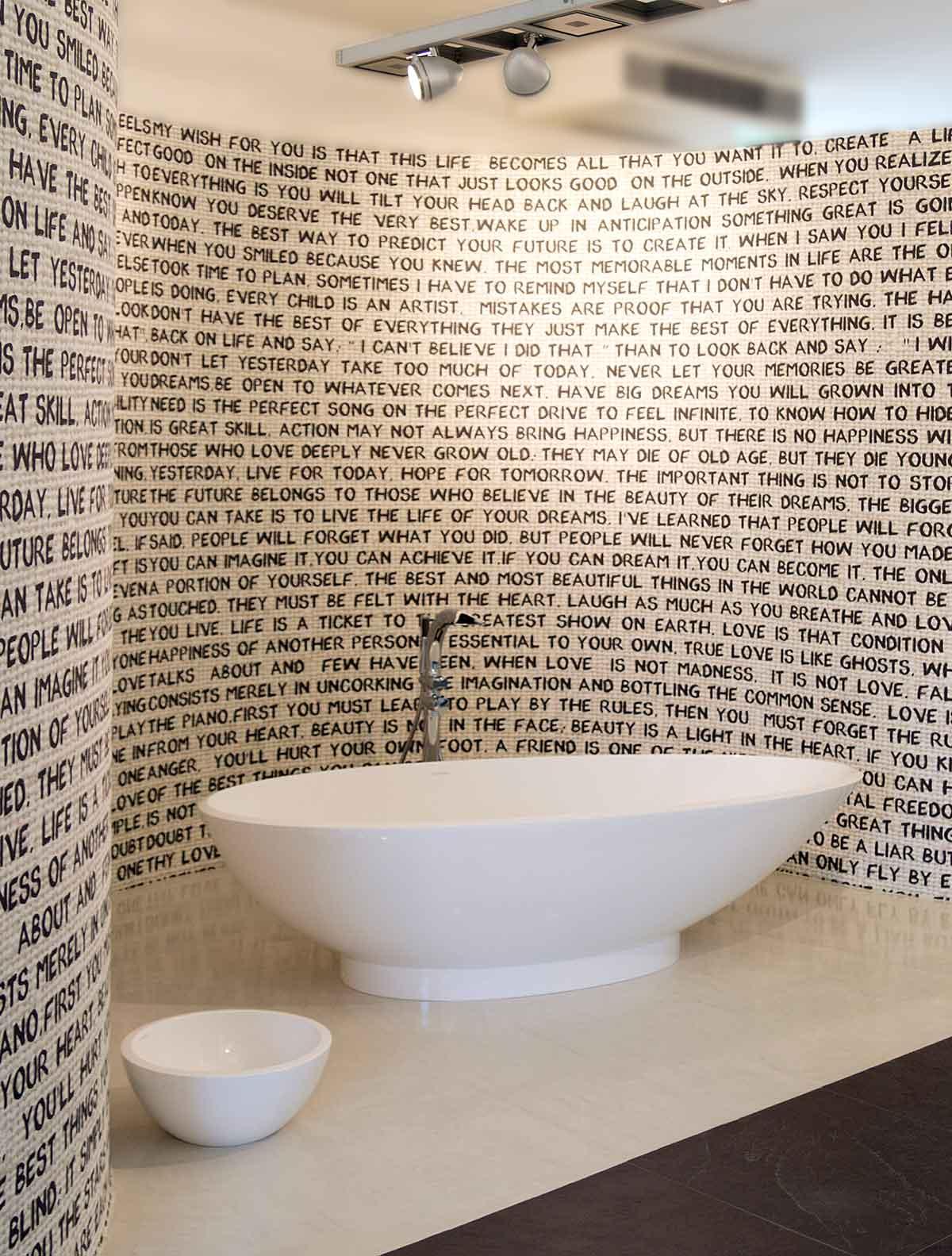 Naldi pavimenti, Showroom, Vasca da bagno