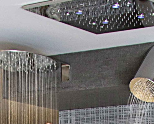 Naldi pavimenti, Showroom, Accessori doccia